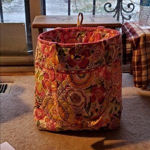 Vera Bradley bucket bag H 12 w 12